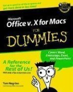 Microsoft? Office v.10 for Macs? For Dummies?