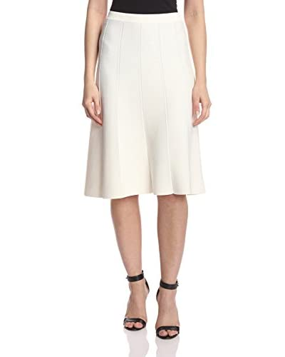 Romeo & Juliet Couture Women's Mid-Length Knit Bandage Flare Skirt