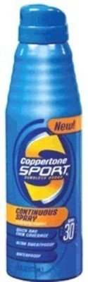 Coppertone Sport Continuous SPF#30 Spray 177 ml (Case of 6)