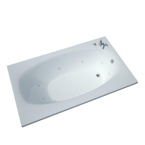 Atlantis-Whirlpools-3666pdl-Polaris-Rectangular-Air-Whirlpool-Bathtub-36-X-66-Left-Drain-White