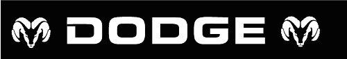 Dodge Ram Windshield Decal