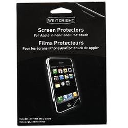 Apple iPhone & iPod Touch Screen Protectors (2 Pack)