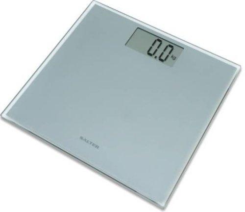 ultra slim technology electronic glass bathroom scales silver ebay