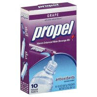 Propel Vitamin Enhanced Water Beverage Mix Grape 10 Powder Packets Per Box -SIX BOXES-BEST BUY DATE 11/05/11