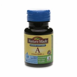 Nature Made Vitamin A, 8000 Iu, Liquid Softgels 100 Ea