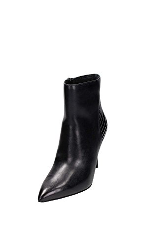What For 5250 Stivaletto Donna Pelle Nero Nero 36