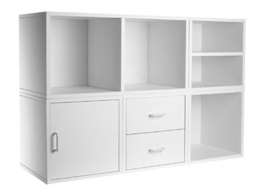 Foremost 340001 Modular 5-in-1 Shelf Cube Storage