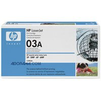 HP LaserJet 03A Black Print Cartridge in Retail Packaging