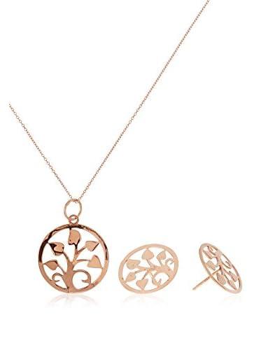 Silver One Set catenina, pendente e orecchini  argento 925