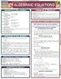 Algebraic Equations (Quickstudy: Academic)