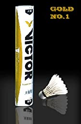 Victor Gold Feather Badminton Shuttleocks 99-2002 Offical China Open Shuttlecocks