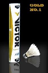 Victor Gold Feather Badminton Shuttleocks 99-2002 Offical China Open Shuttlecocks
