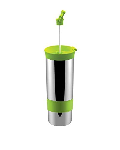 asobu 16-Oz. Hot Coffee & Tea Press, Green