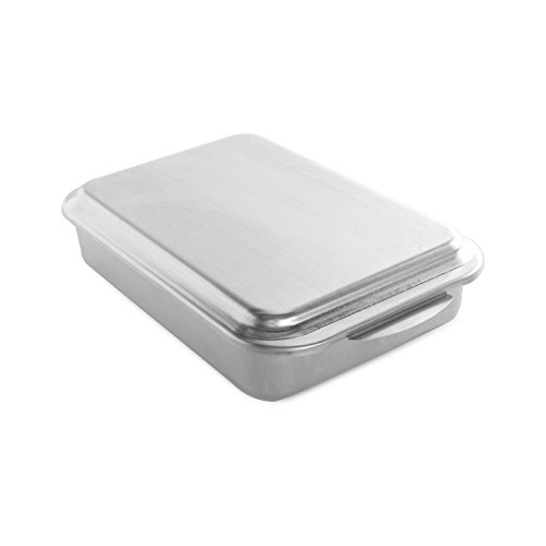 Nordic Ware Classic Metal 9x13 Covered Cake Pan (Metal Dish Pan compare prices)