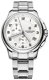 Victorinox Swiss Army Officer's Chronograph with Pocket Knife Men's watch #241554.1