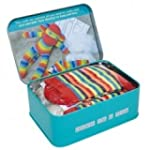 Brand New Sock Monkey in a tin gift