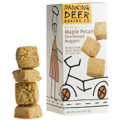Dancing Deer Maple Pecan Nugget Shortbread Cookies