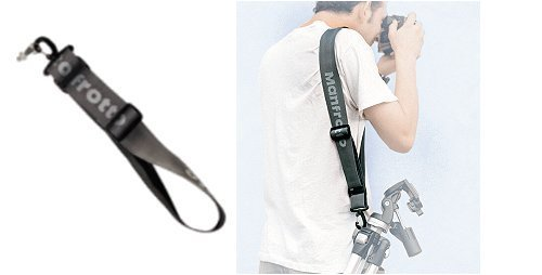 Manfrotto 402 Tracker Tripod Carrying Strap - Replaces 3044TSB GreyB00009R6DW
