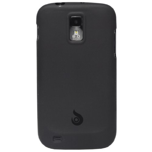 Diztronic Matte Back Black Flexible *Revision 2* TPU Case for Samsung Galaxy S II (SGH-T989) ***ONLY FOR T-MOBILE MODEL*** [TPU-Cases Retail Packaging]
