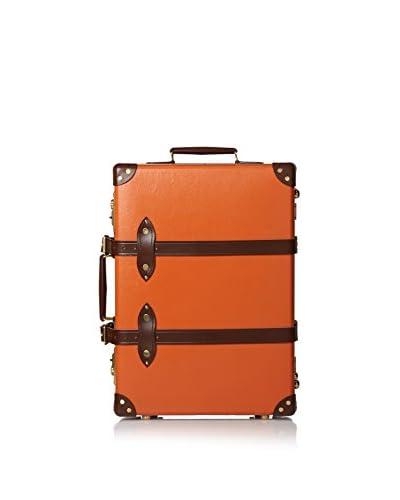 """Globe-Trotter 21"""" Centenary Trolley Case, Orange"""