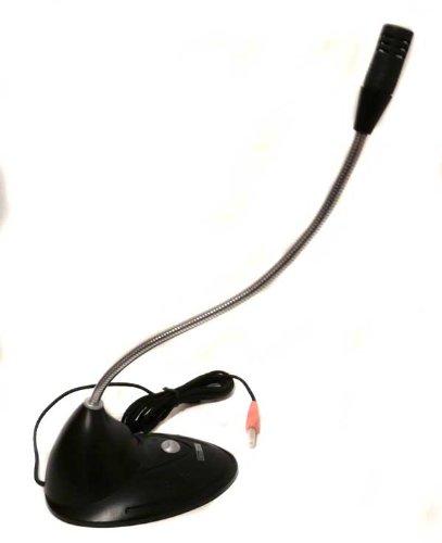 PC Mikrofon mit Schwanenhals für Skype Voip Telefonie laptop Pc2