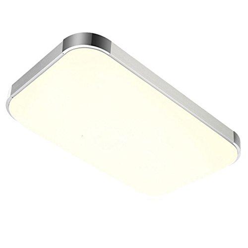 SAILUN 48W Warmweiss Kaltweiss Dimmbar LED Modern Deckenleuchte Deckenlampe Flur Wohnzimmer Lampe Schlafzimmer Kche Energie Sparen Licht
