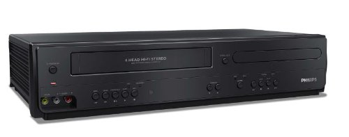 The New Philips DVP3355V/F7 DVD/VCR Player (Black)