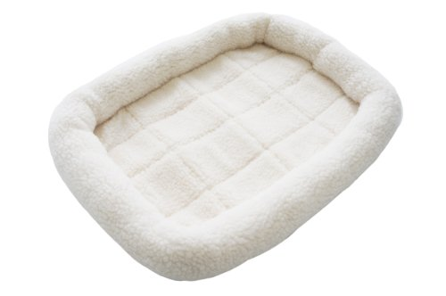 "Mass Joy Berber Fleece Comfortable Pet Dog Cat Pad Mat Bed Beige (XS: 18"" x 13""( 47 x 34cm ))"