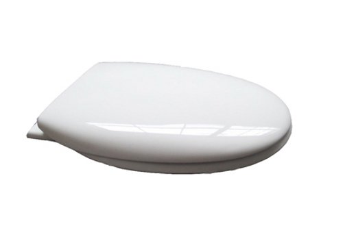 Croydex AntiBacterial Toilet Seat with Slow Close Hinges, White