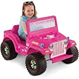 Fisher-Price Power Wheels Barbie Jeep 6-Volt Battery-Powered Ride-On CHEAP SHIPPING AND LOWEST PRICE ON AMAZON