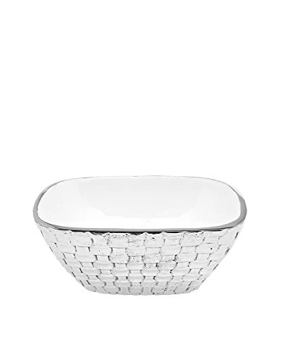 Godinger White Weave Medium Bowl