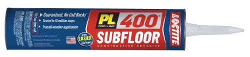 Osi - Henkel Pl 400 Voc Subfloor With Deck Adhesive And 10-Ounce Cartridge, White