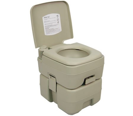 buy best price palm springs outdoor 5 gal portable outdoor camping recreation toilet for sale. Black Bedroom Furniture Sets. Home Design Ideas