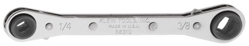Klein 68309 6-13/16-Inch Ratcheting Refrigeration Wrench