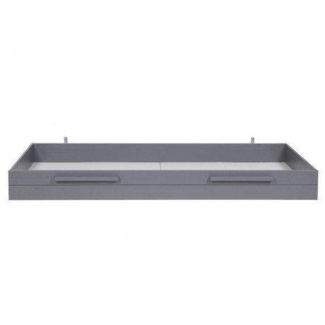 Alfred & Compagnie - Tiroir pour lit Aaron gris acier