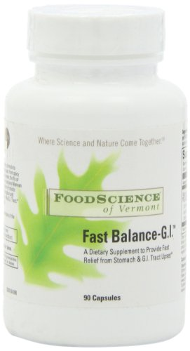 Food Science Of Vermont Fast Balance-G.I. Capsules, 90 Count