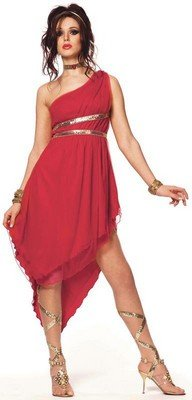 Adults Costumes Ruby Goddess Costume