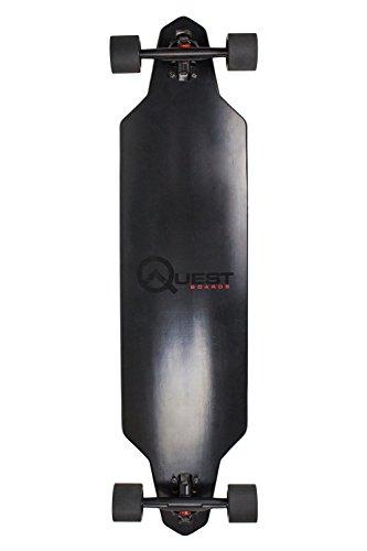 Quest Skateboards Zero Dark 40 Downhill Style Drop (Skateboard Quest compare prices)