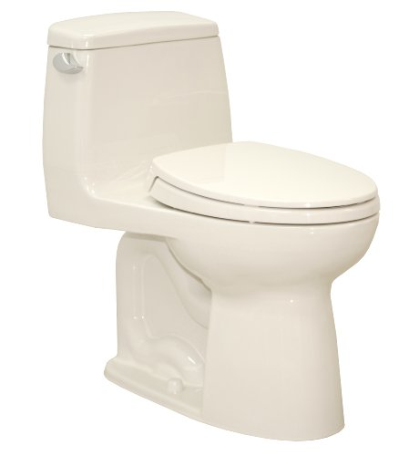 Toto Ms854114El#12 Eco Ultramax Ada Elongated One Piece Toilet, Sedona Beige front-757161