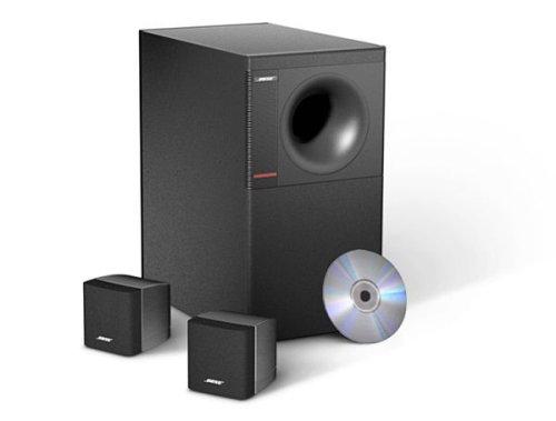 Acoustimass 3 Series IV speaker system - Black