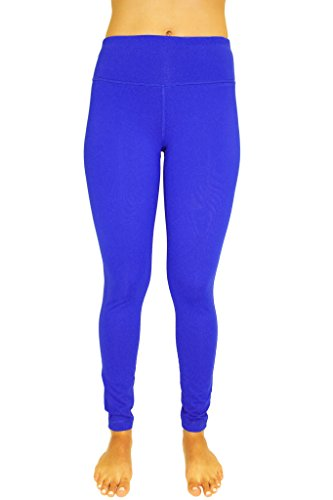 90 Degree by Reflex Power Flex Yoga Pants - Doder Blue - Medium