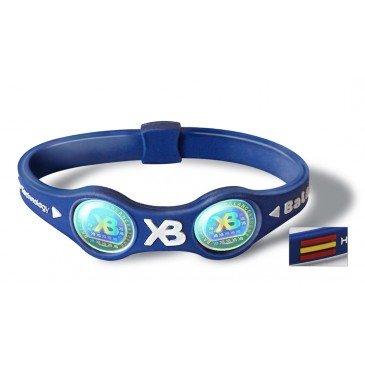 One Balance Xtreme Extreme Balance power Wristband Bracelet Dual Frequency Spain Blue/White Small Medium Large by Quantum Value