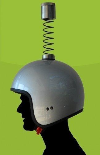 HWS Hals-Wirbelsäulen-Trainer Größe L / Kopfhelm mit Edelstahlfeder / Maße: ca. H 42 cm – B 25 cm x 27 cm / inkl. Anleitung + Übungs-DVD günstig kaufen