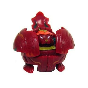 Bakugan Battle Brawlers Game Single Loose Figure Nova 12 Pyrus Tigrerra Red