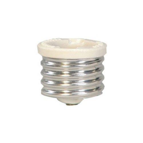 Cooper Wiring 332-BOX Keyless Lamp Socket Reducer, Mogul to Medium, White