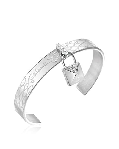 Just Cavalli Bracciale Rigido Just Lock Argentato