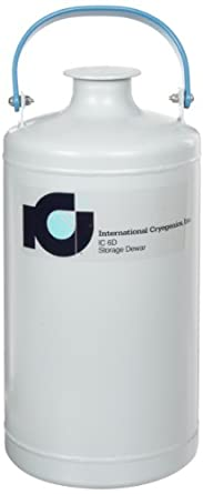 International Cryogenics LN2 Liquid Nitrogen Storage Dewar, 6 L