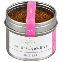 Pul Biber Gewürzzubereitung, 50g von Zauber der Gewürze GmbH bei Gewürze Shop