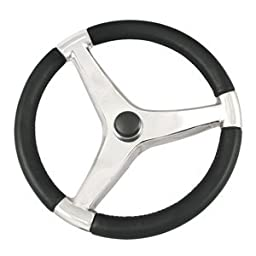 Schmitt Evo Pro 316 Cast Stainless Steel Steering Wheel - 15.5\