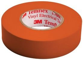 (3M 1700C-Orange-3/4X66Ft) (3M Id Number 80610736920) 3M(Tm) Temflex(Tm) General Use Vinyl Electrical Tape 1700C, Orange, 3/4 In X 66 Ft (19 Mm X 20,1 M), 100 Per Case [You Are Purchasing The Min Order Quantity Which Is 10 Rolls]